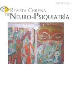 Revista Chilena de Neuro-Psiquiatría